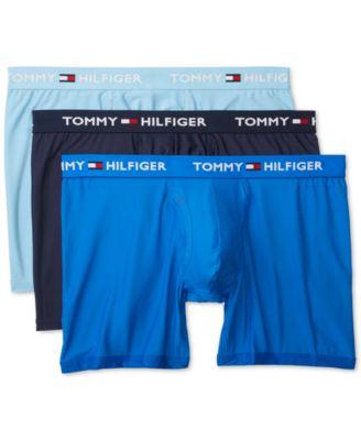 타미 힐피거 Tommy Hilfiger Mens 3-Pk. Everyday Micro Boxer Briefs
