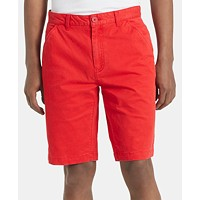 Deals on Calvin Klein Jeans Men's Flat Front Twill 9-inch Shorts