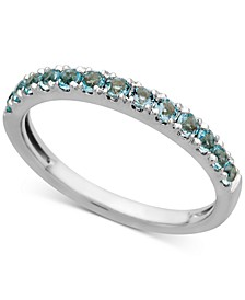 Aquamarine (1/2 ct. t.w.) Ring in 14k White Gold