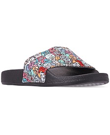 Skechers Women's BOBS For Dogs and Cats - Woof Party Slide Sandals from Finish Line