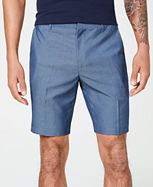 I.N.C. Men's Slim-Fit Chambray Shorts, Created for Macy's
