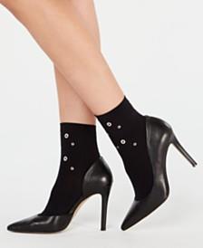 HUE® Grommet Anklet Socks