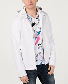 I.N.C. Men's Perforated Hooded Jacket, Created for Macy's