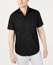 I.N.C. Men's Short-Sleeve Pocket Shirt, Created for Macy's