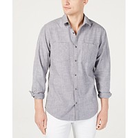 I.N.C. Men's Dual Pocket Chambray Shirt