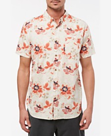 Jack O'Neill Men's Boca Bay Short Sleeve Woven Shirt