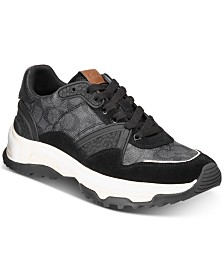 COACH Men's C143 Signature Sneakers