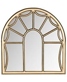 Palladian Mirror in Gold
