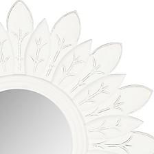 Safavieh Sun King Mirror in White