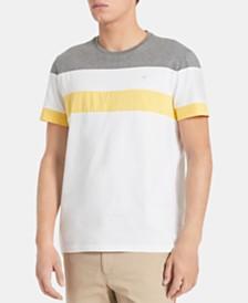 Calvin Klein Men's Colorblocked Pima Cotton T-Shirt