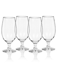 TarHong Cocktail All Purpose Plastic Goblets, Set of 4