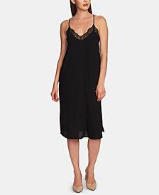 1.STATE Lace-Trimmed Midi Slip Dress