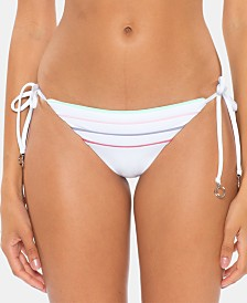 Soluna Total Eclipse Side-Tie Half Moon Hipster Bikini Bottoms