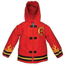 Toddler Boys Fire Chief Raincoat