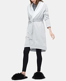 UGG® Blanche II Double-Knit Fleece Robe