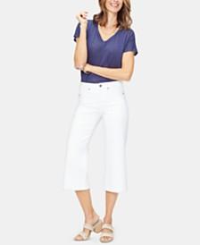 NYDJ Wide-Leg Capri Jeans