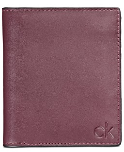 147909e61 Calvin Klein Embossed Logo Leather Wallet