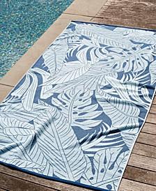 Palm Resort 100% Cotton Beach Towel