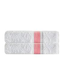 Unique 2-Pc. Turkish Cotton Bath Towel Set