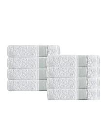 Unique 8-Pc. Turkish Cotton Wash Towel Set
