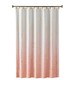 Ltd. Splatter Fabric Shower Curtain