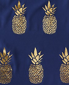 Saturday Knight Ltd. Gilded Pineapple Shower Curtain