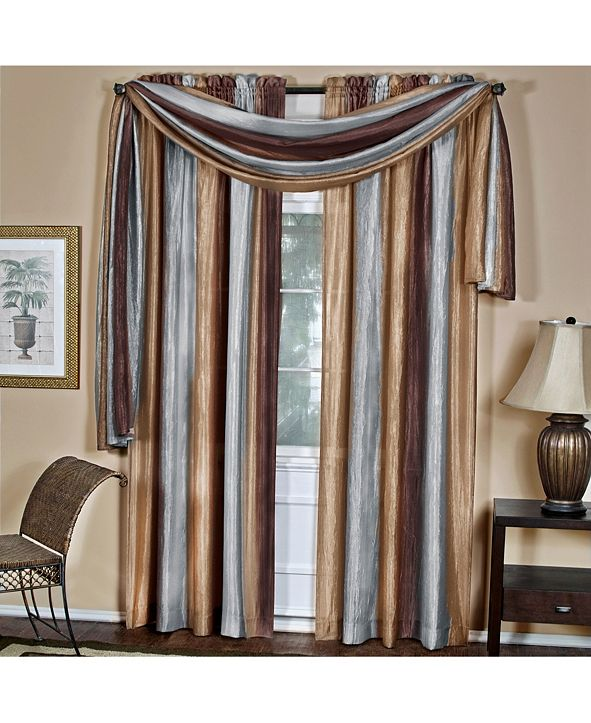 Achim Ombre Window Curtain Panel, 50x84