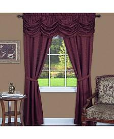 Panache 5 Piece Window Curtain Set, 55x84