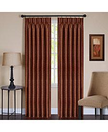 Parker Pinch Pleat Window Curtain Panel, 34x84