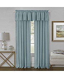 Wallace Window Curtain Valance, 52x14