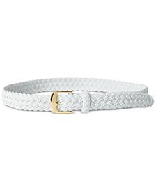 Lauren Ralph Lauren Woven Elastic Stretch Plus-Size Belt
