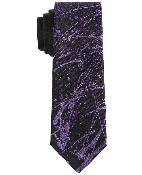DKNY Big Boys Splatter-Print Tie