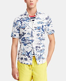 cfb9ede9d0 Polo Ralph Lauren Men s Classic Fit Hawaiian Shirt   Reviews ...