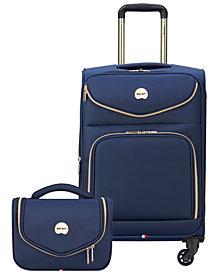 CLOSEOUT! Delsey Envysion 2-Piece Luggage Set
