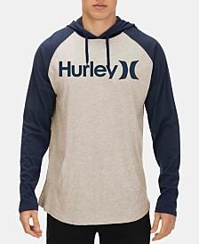 Hurley Men's Logo Graphic Hoodie