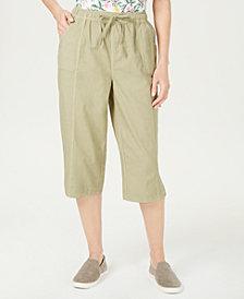 Karen Scott Petite Edna Capri Pants, Created for Macy's
