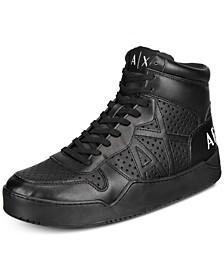 Armani Exchange Men's High-Top Sneakers