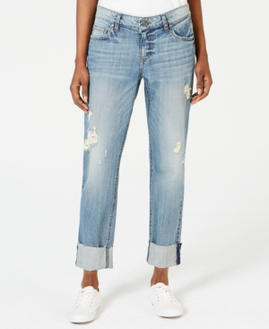 Kut From The Kloth Jeans KUT FROM THE KLOTH CATHERINE CUFFED RIPPED JEANS