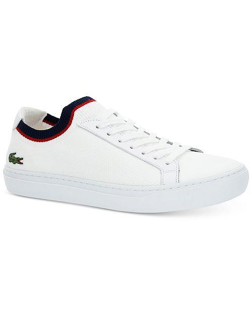 f98cd0b9e9e6 Lacoste Men s La Piquee 119 1 Sneakers   Reviews - All Men s Shoes ...