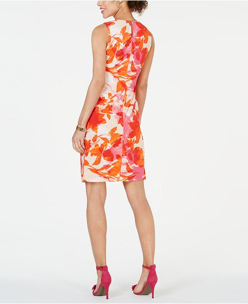fourreau fleurs OrangeRose Avis Petite et sur Petites imprimee a robes Robe Taylor cK1J3FTlu