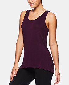 Gaiam Flow Cutout-Back Tank Top