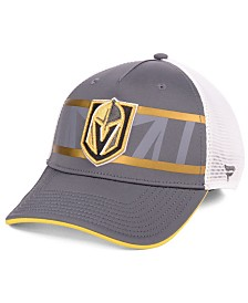 Authentic NHL Headwear Vegas Golden Knights 2nd Season Trucker Adjustable Snapback Cap