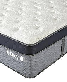 "Broyhill 12"" Full Norwich Cooling Gel Memory Foam Hybrid Innerspring Medium Firm Plush Mattress"