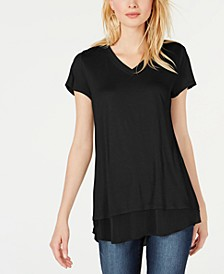 INC V-Neck Tunic, Created for Macy's