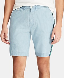 "Polo Ralph Lauren Men's 9.25"" Classic-Fit Chambray Shorts"