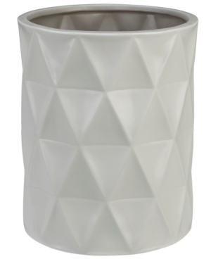 Creative Bath Triangles Wastebasket Bedding