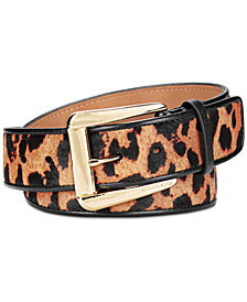 MICHAEL Michael Kors Animal-Print Belt