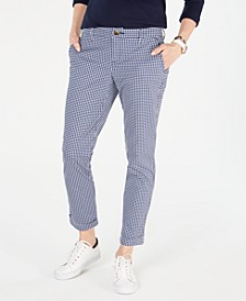 Gingham Chino Pants