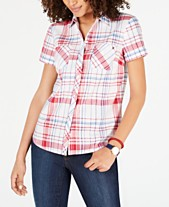 79c2088b68 Plaid Shirts For Women  Shop Plaid Shirts For Women - Macy s