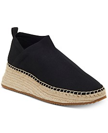I.N.C. Women's Walda Stretch Espadrille Flats, Created for Macy's